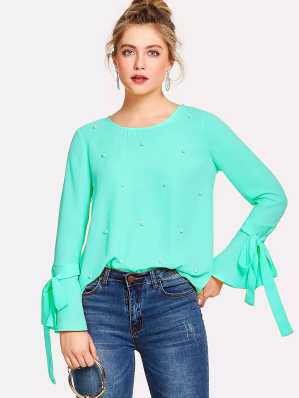 390483ded5a7 Party Tops - Buy Latest Party Wear Tops Online at Best Prices In ...