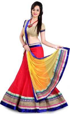 3fea27b4691 Red Lehenga Cholis - Buy Red Lehenga Cholis Online at Best Prices In ...