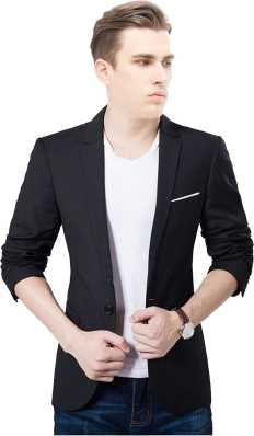 01294df9d Black Blazers - Buy Black Blazers online at Best Prices in India ...