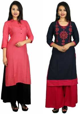 7a8d64ebe1 Long Kurtis With Palazzo Pants - Buy Long Kurtis With Palazzo Pants ...