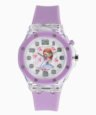 Disney Fashion Kids Watches For Girls Frozen Princess Luxury Quartz Wristwatches Sophia Princess Girl Child Casual Watches Watches