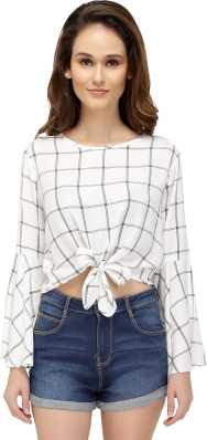4a87d8834e1 White Crop Tops - Buy White Crop Tops online at Best Prices in India ...