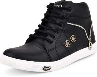 e1f8b4629f Black Sneakers - Buy Black Sneakers online at Best Prices in India ...