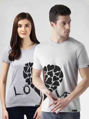 6b5796ef Couple T Shirts - Buy Couple T Shirts online at Best Prices in India |  Flipkart.com