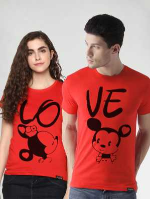 1faa889121db Couple T Shirts - Buy Couple T Shirts online at Best Prices in India ...