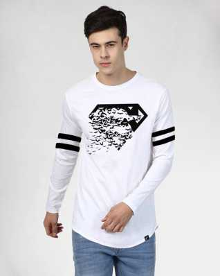 a0531791ee7bf8 Long T Shirt - Buy Long T Shirt online at Best Prices in India ...