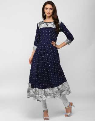 98a0a446bc28 Long Kurtis - Buy Designer Long Kurtas Online at Best Prices In ...