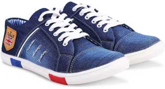 b3214bc7c9 Denim Shoes - Buy Denim Shoes online at Best Prices in India ...