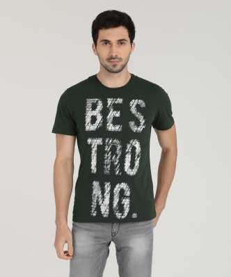 a922b796 T-Shirts for Men - Shop for Branded Men's T-Shirts at Best Prices in India  | Flipkart.com