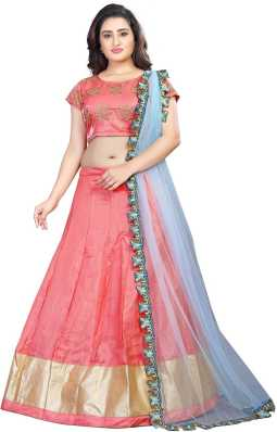 eda4c8c10 Pink Lehenga - Buy Pink Lehenga Cholis Online at Best Prices In ...