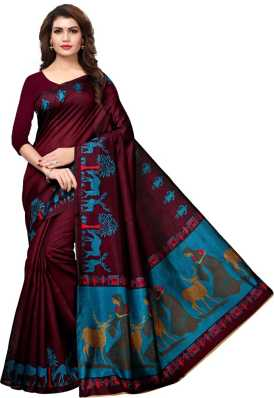 ccb62126d Printed Sarees - Buy Printed Sarees online at Best Prices in India ...