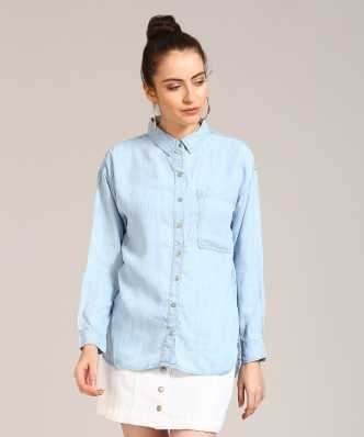 ef40255737e Women s Shirts Online at Best Prices In India