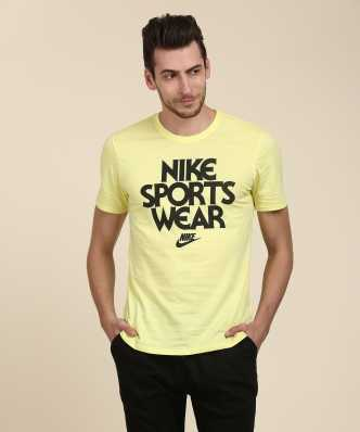 42ec2a20 Nike Tshirts - Buy Nike Tshirts @Upto 40%Off Online at Best Prices In India  | Flipkart.com