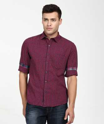 c15bc30a64c Linen Shirts - Buy Linen Shirts online at Best Prices in India ...