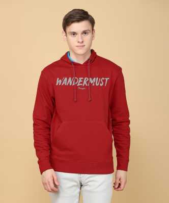 0db52b919 Wrangler Sweatshirts - Buy Wrangler Sweatshirts Online at Best Prices In  India | Flipkart.com
