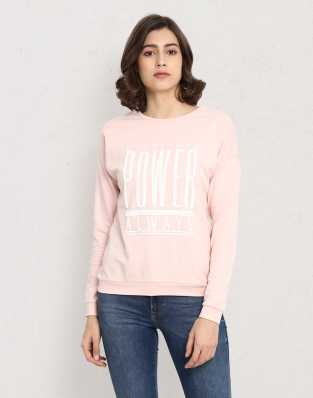 db82c27c498e Sweatshirts - Buy Sweatshirts / Hoodies for Women Online at Best Prices in  India