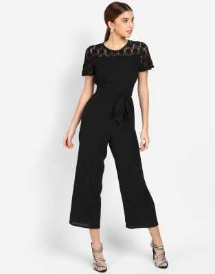c0e24b8dd594 Black Jumpsuits - Buy Black Jumpsuits Online at Best Prices In India ...