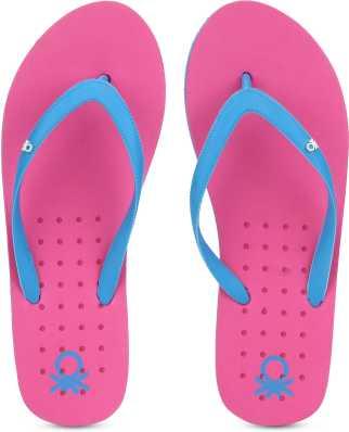 582f3c516 3. United Colors of Benetton. Flip Flops · ₹299. ₹499. 40% off. United  Colors of Benetton. Women Slippers