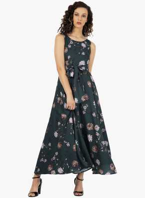 cdd8528d1f6 Green Dress - Buy Green Dresses Online at Best Prices In India ...