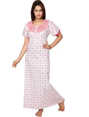 92e9bd21ad Full Sleeve Night Dresses Nighties - Buy Full Sleeve Night Dresses ...