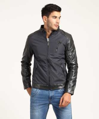 f90e70a6f30e Leather Jackets - Buy Leather Jackets For Men & Women Online on ...