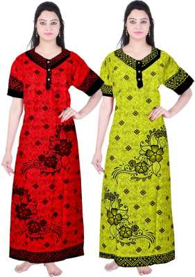 6c84a9e00f Maxi Full Length Night Dresses Nighties - Buy Maxi Full Length Night ...