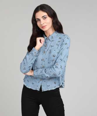 a516b8e6a50a Women s Shirts Online at Best Prices In India