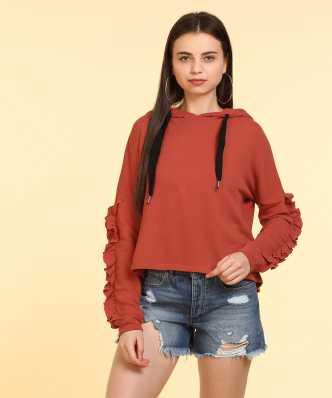 c335b018d80 Sweatshirts - Buy Sweatshirts   Hoodies for Women Online at Best ...