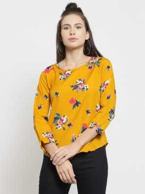 4239a8e786d Floral Tops - Buy Floral Tops Online For Women at Best Prices In ...
