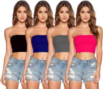 7e5cf7ddce Tube Tops - Buy Tube Tops online at Best Prices in India