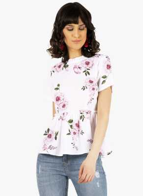 8869ef9b1a4 Floral Tops - Buy Floral Tops Online For Women at Best Prices In India
