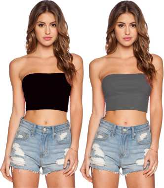 3dd5762c40 Tube Tops - Buy Tube Tops online at Best Prices in India