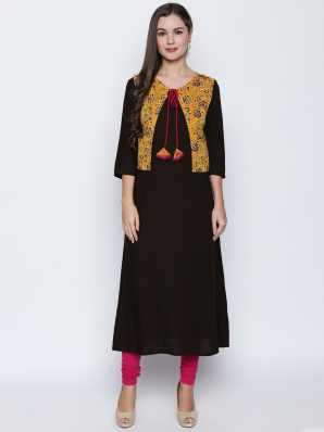 18be72cb75 Kurti With Jacket - Buy Kurti With Jacket online at Best Prices in ...