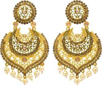 Rajputi Jewellery Earrings Buy Rajputi Earrings Online At Best