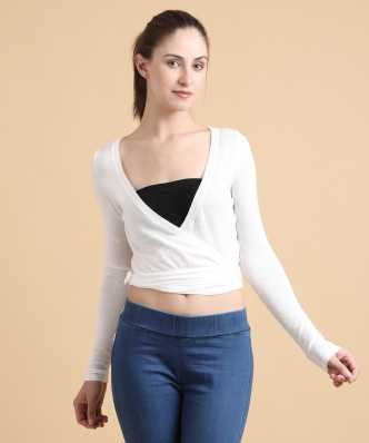 f98cd0e29ecee Forever 21 Tops - Buy Forever 21 Tops Online at Best Prices In India ...