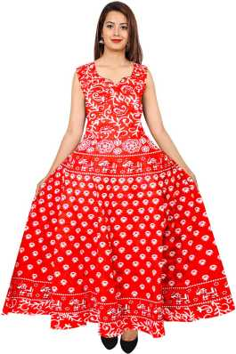 bb90306fbe9ee0 Red Dresses - Buy Red Party Dresses Online at Best Prices In India ...