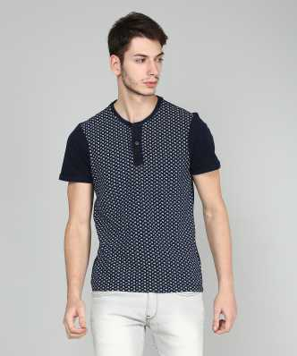 d36668f5d Henley Tshirts - Buy Henley Tshirts Online at Best Prices in India ...