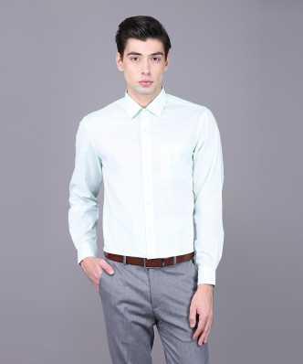 6878120c77e9 Light Green Formal Shirts - Buy Light Green Formal Shirts Online at ...