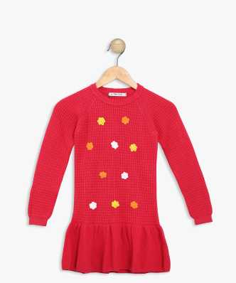 99e8fc70d5e6 Sweaters For Girls - Buy Girls Sweaters Online At Best Prices In ...