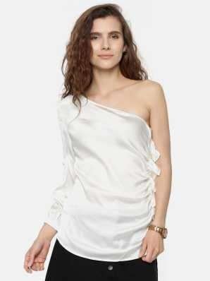 957c9f93e9d One Shoulder Tops - Buy One Shoulder Tops online at Best Prices in India