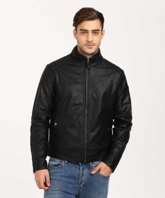 b257c472e48 Leather Jackets - Buy leather jackets for men   women online on ...