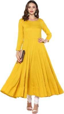 3ac73fca9a5 Cotton Anarkali Kurtis - Buy Cotton Anarkali Kurtis online at Best ...