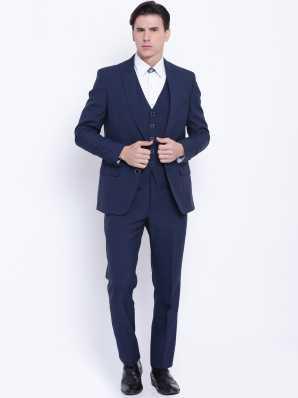 16d35b7d471 Navy Blue Suit - Buy Navy Blue Suit online at Best Prices in India |  Flipkart.com