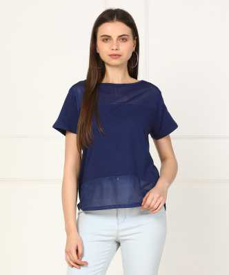 159a11f6f1e4ec Boat Neck Tops - Buy Boat Neck Tops online at Best Prices in India ...