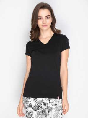 20b03b31d1dc Women T-Shirts - Buy Polos & T-Shirts for Women Online at Best ...