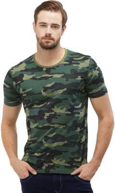 994c15cb3 Indian Army T Shirts - Buy Military   Camouflage T Shirts online at ...