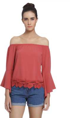 36b2e7e1bdf Off Shoulder Tops - Buy Off Shoulder Tops / One Shoulder Tops Online ...