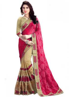 d52b059ef9cf56 Heavy Work Sarees - Buy Heavy Net Sarees With Stone Work Online at ...
