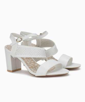 e2dbe59ef7701 White Heels - Buy White Heels Online at Best Prices In India ...