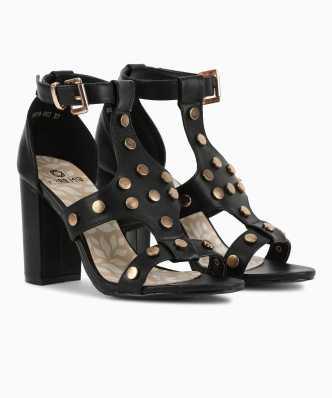 08654b7deb8e Black Heels - Buy Black Heels online at Best Prices in India ...